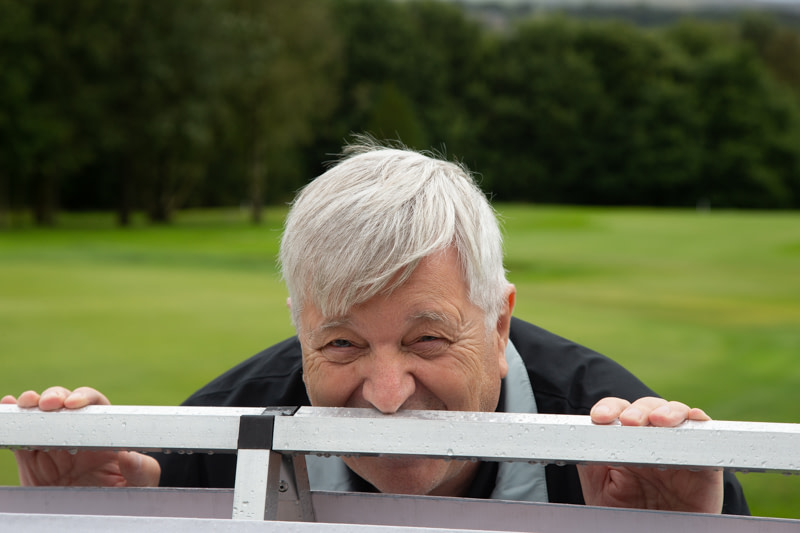 Logic Wealth Planning, George at golf day fundraiser