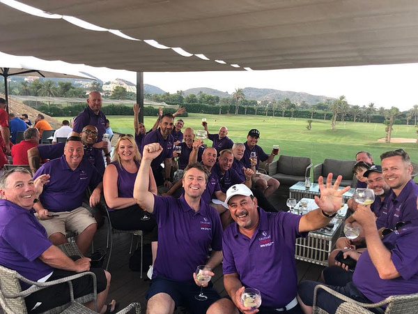 Caudwell Children golf event